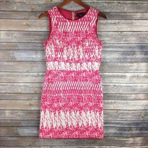 Just Taylor Pink Career Sheath Dress- Size 4